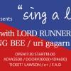 "'17.05.07 [sun] F.A.D YOKOHAMA presents  ""sing a lot"" vol.2 斧寺 カズトシ with LORD RUNNERS / SODA! / HUSKING BEE / uri gagarn / 刑⚡︎鉄"
