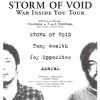 '17.11.18 [sat] STORM OF VOID / War Inside You Tour STORM OF VOID / Tomy Wealth / Joy Opposites / Azarak