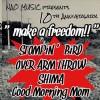 "'18.08.04 [sat] NAO MUSIC presents 10th Anniversary ""make a freedom!!"" STOMPIN' BIRD / OVER ARM THROW / SHIMA / GoodMorningMom"