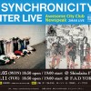 '18.12.11 [tue] SYNCHRONICITY'18 WINTER LIVE – Awesome City Club × Newspeak – Supported by BEDWIN & THE HEARTBREAKERS