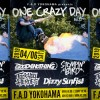 '19.04.06 [sat] ONE CRAZY DAY vol.23 GOOD4NONTHING / FUCK YOU HEROES / STOMPIN'BIRD / Dizzy Sunfist