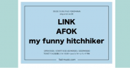 '20.03.13 [fri] sing a lot vol.30 LINK / AFOK / my funny hitchhiker