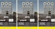 '20.02.24 [mon,祝] A Barking Dog Never Bites presents 「DOG BANG CREW FEST YOKOHAMA」A Barking Dog Never Bites / RED in BLUE / Take mind's place / HANABOBI(北海道) / VELDE /LINGUA FLANCA