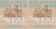 '20.10.18 [sun] NUBO ACOUSTIC ONE MAN LIVE