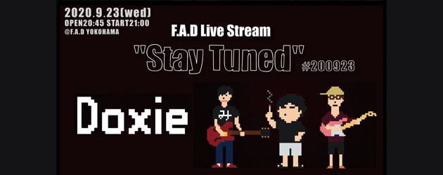 """'20.09.23 [wed] F.A.D Live Stream """"Stay Tuned"""" #200923 – Doxie -"""