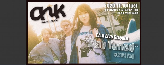"""'20.11.10 [tue] F.A.D Live Stream """"Stay Tuned"""" #201110 – ank -"""