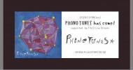 '20.12.08 [tue] PHONO TONES has come! supported  by F.A.D Live Stream